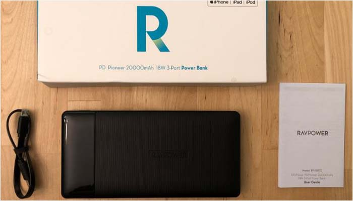 RAVPower 20,000 mAh power bank