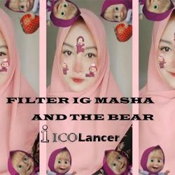 Nama Filter IG Masha And The Bear