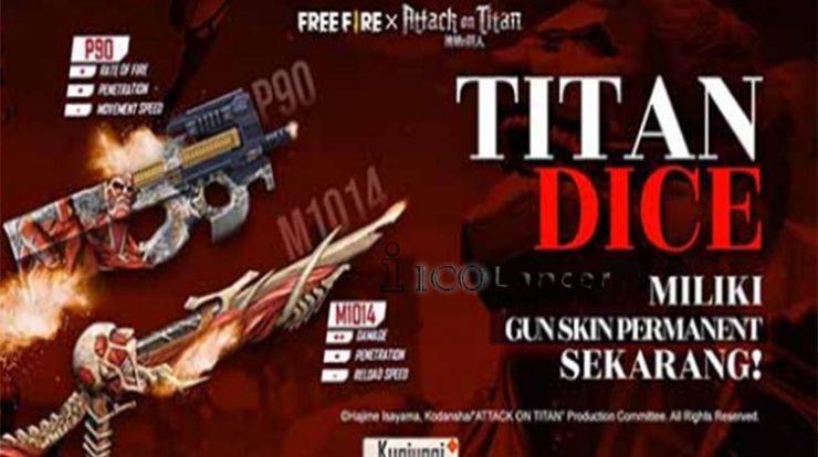 Cara Mendapatkan The Shadow Red Bundle Free Fire Di Titan Dice