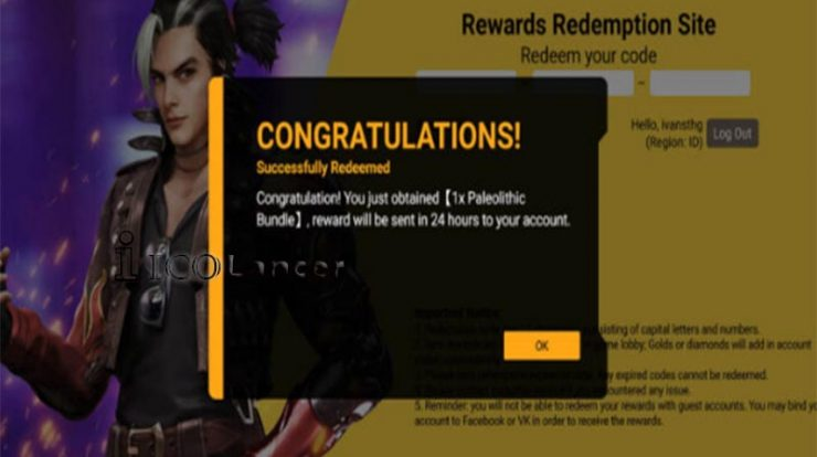 Kode Redeem Free Fire 7M Followers
