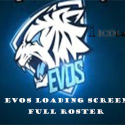 evos Loading Screen Full Roster Mobile Legends